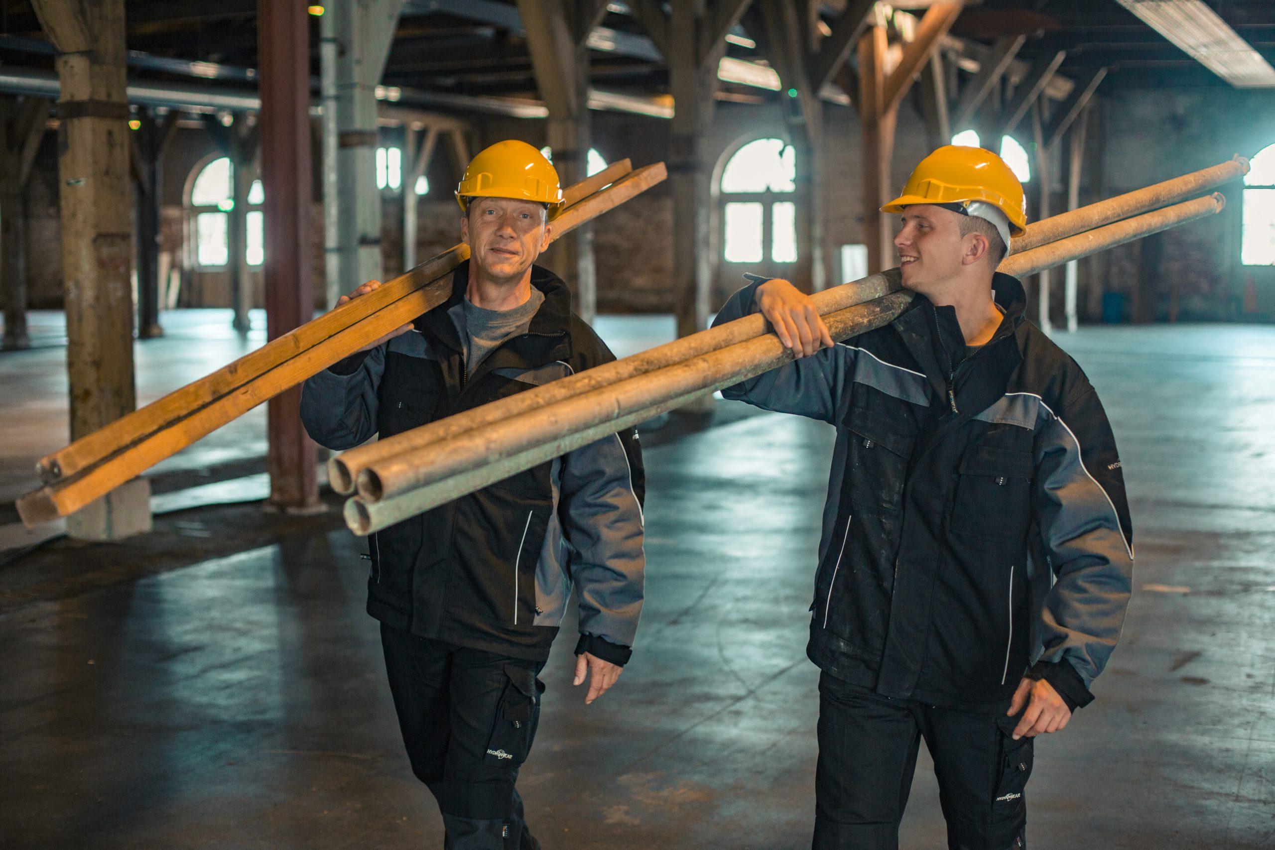 Aan het werk in de bouw 2